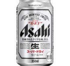 アサヒスーパードライ 350ml缶